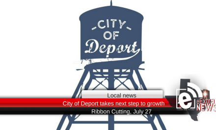 City of Deport takes next step to growth, Ribbon Cutting July 27