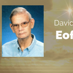 David J. Eoff of Paris, Texas