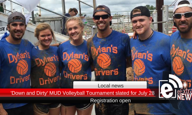 'Down and Dirty' MUD Volleyball Tournament slated for July 28