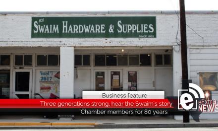 Three generations strong, hear the Swaim's story