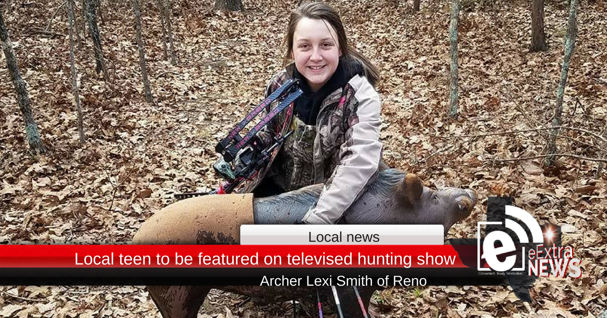 Local teen to be featured on televised hunting show • Click to watch video