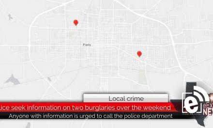 Police seek information on two burglaries over the weekend