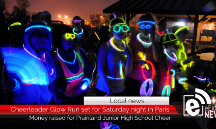 Cheerleader Glow Run set for Saturday night in Paris