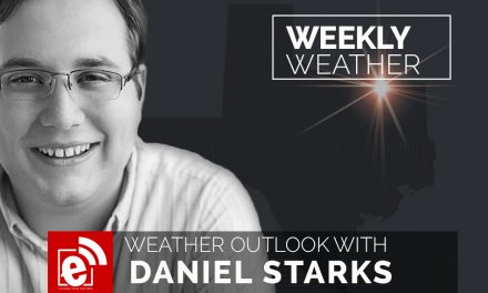 Weekend weather outlook with Daniel Starks
