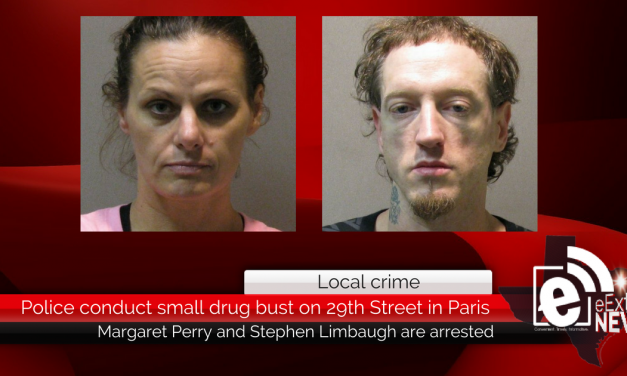 Police conduct small drug bust on 29th Street in Paris