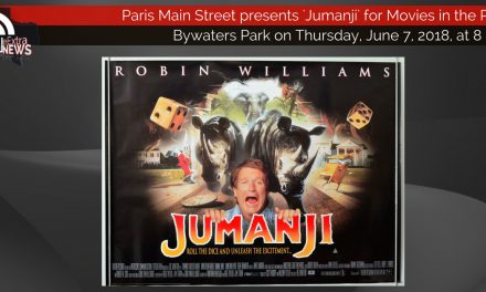 Movies in the Park presents 'Jumanji' tonight at 8 p.m.