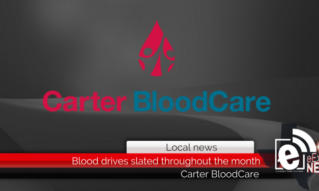 Blood drives slated throughout the month of June