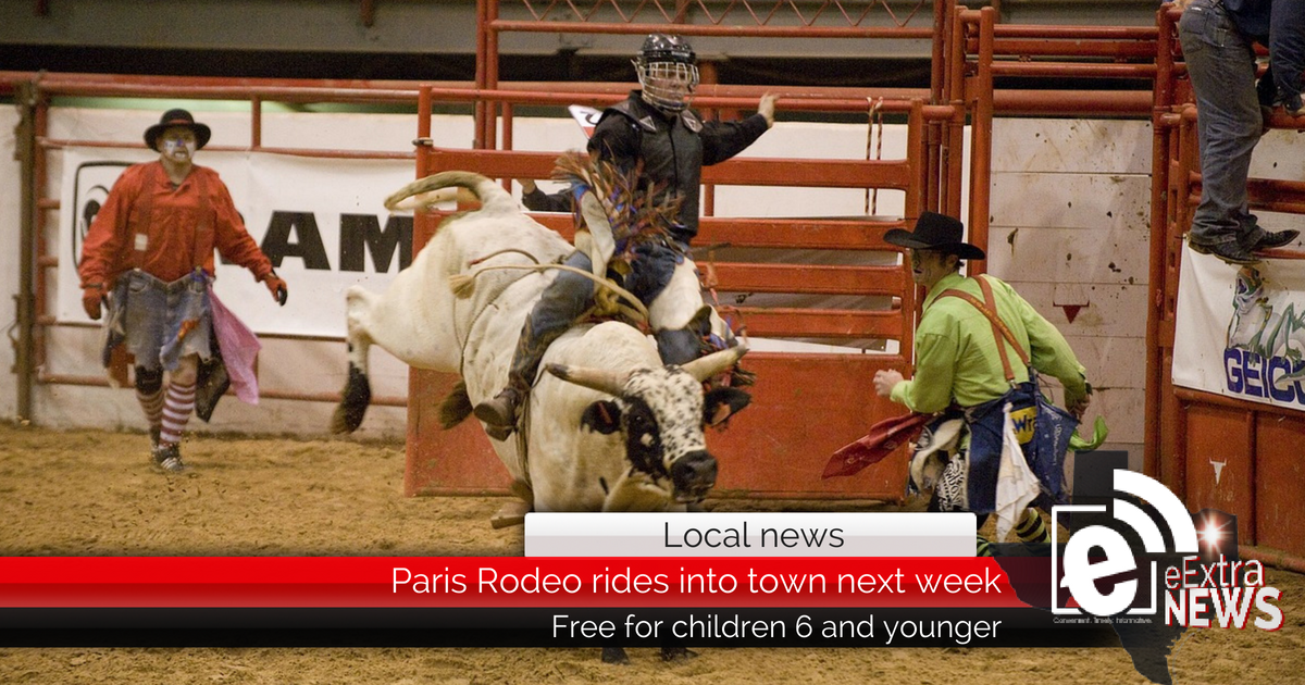 Paris Rodeo rides into town next week, June 22-23, 2018