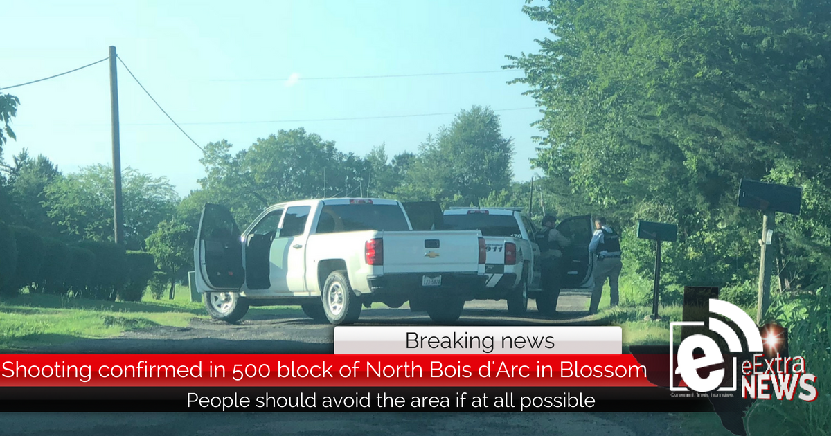 Breaking: Shooting in Blossom confirmed by Lamar County ...