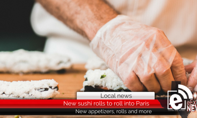 Fifteen new sushi rolls to roll out at Shogun's in Paris