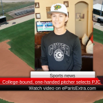 College-bound, one-handed pitcher selects PJC