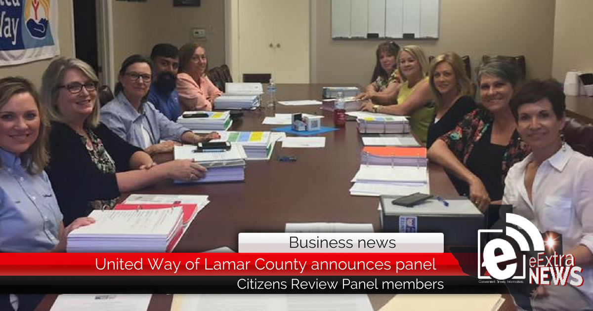United Way of Lamar County announces Citizens Review Panel
