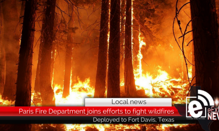 Paris Fire Department joins efforts to battle wildfires