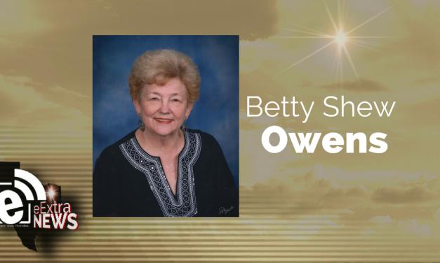 Betty Shew Owens of Paris, Texas