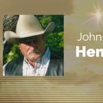 John C. Henry of Brookston, Texas