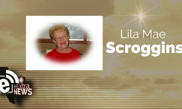 Lila Mae Scroggins of Blossom, Texas
