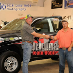 North Lamar student, Gatz Michael, wins truck