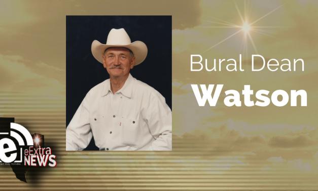 Bural Dean Watson of Cunningham, Texas