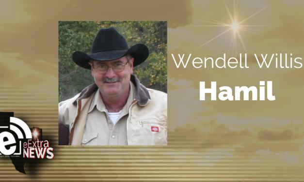 Wendell Willis Hamil of Paris, Texas