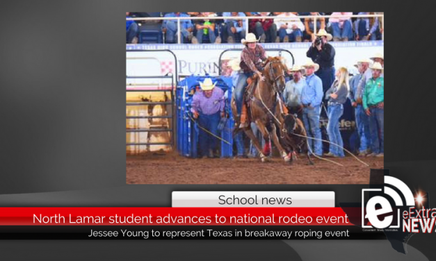 North Lamar student advances to national rodeo event