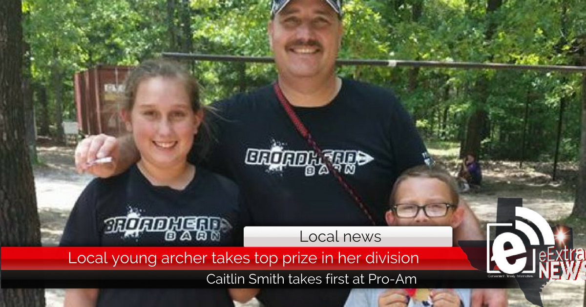Local young archer takes top prize in her division