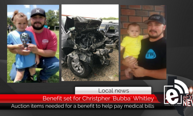 Benefit set for Christopher 'Bubba' Whitley || Auction items needed