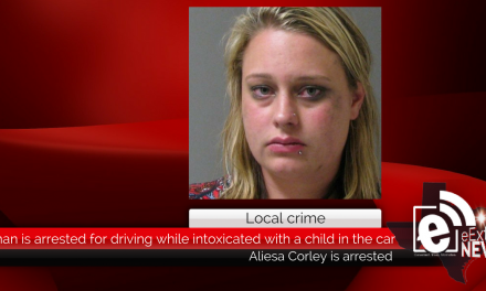 Woman is arrested for driving while intoxicated with a child in the car