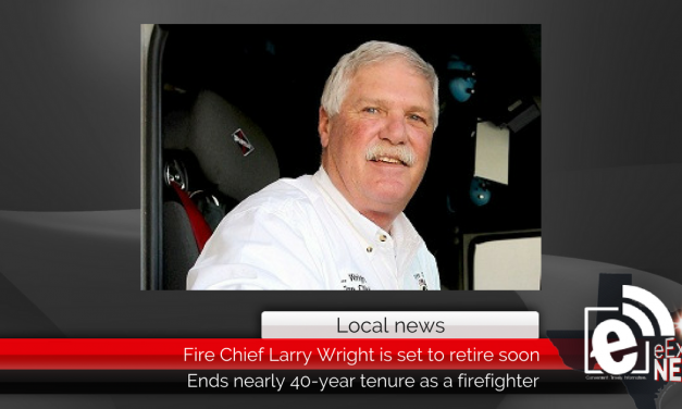 Paris Fire Chief Larry Wright is set to retire soon
