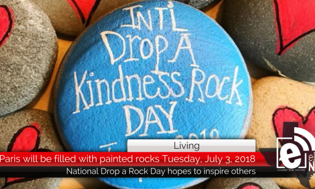 Paris will be filled with painted rocks Tuesday, July 3, 2018