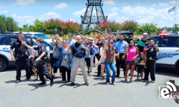 Paris Police Department joins in on the lip sync battle