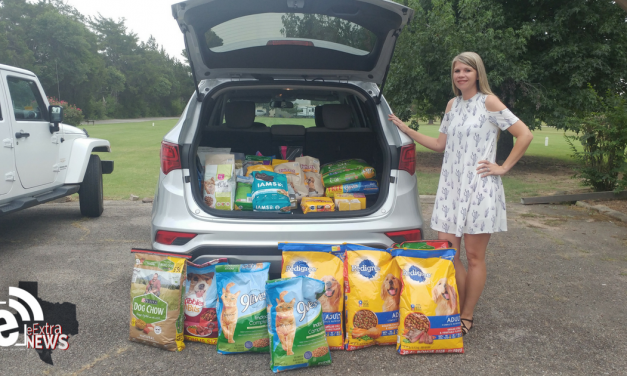Nearly 300 pounds of pet food collected for Lamar County Meals on Wheels