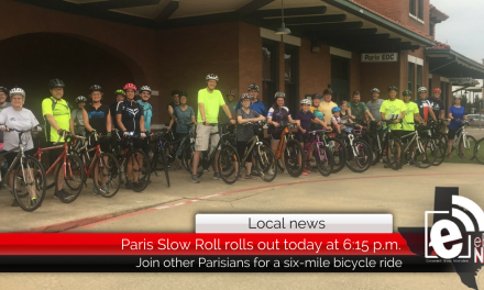 Paris Slow Roll rolls out starting at 6:15 p.m.