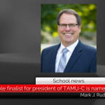 Mark J. Rudin named as sole finalist for president of Texas A&M University-Commerce