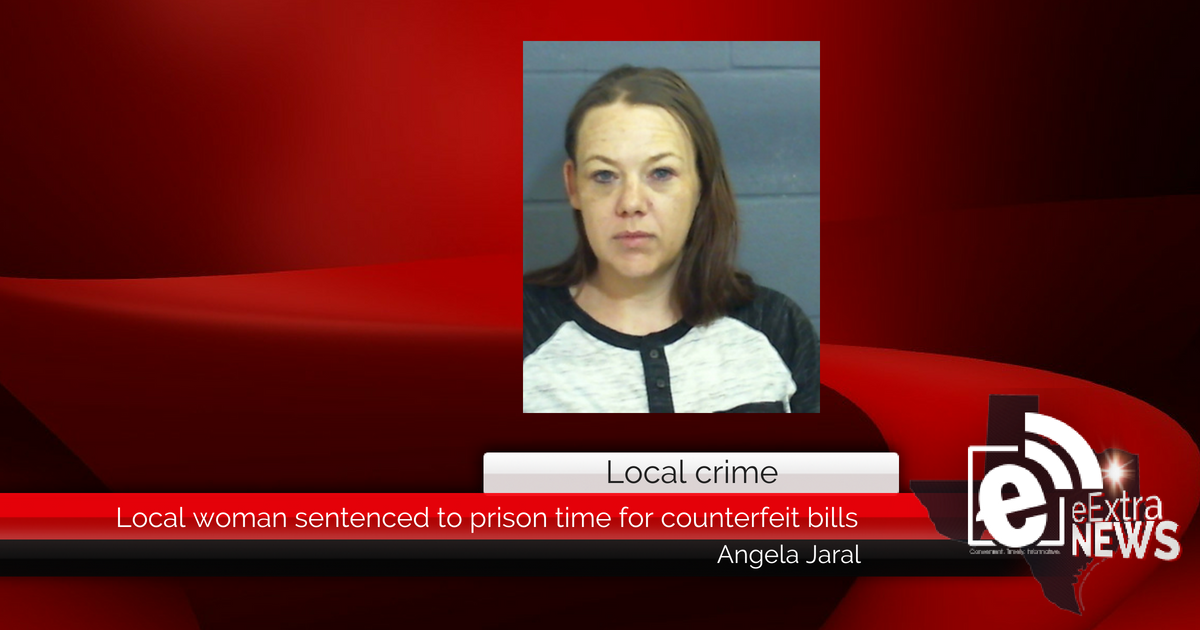 Local woman sentenced to prison time for counterfeit bills