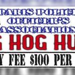 Paris Police Officers Big Hog Hunt || September 8-9, 2018