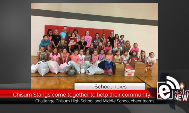Chisum Stangs come together to help their community