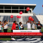 Paris High School seniors remember classmate with balloon release
