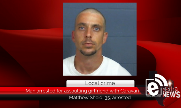 Man arrested for assaulting girlfriend with Caravan