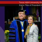 President Keck of Texas A&M Commerce named President Emeritus