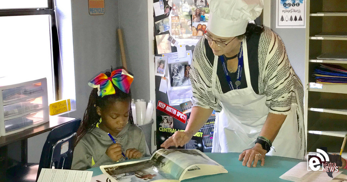 Teachers offer students a delicious literary treat