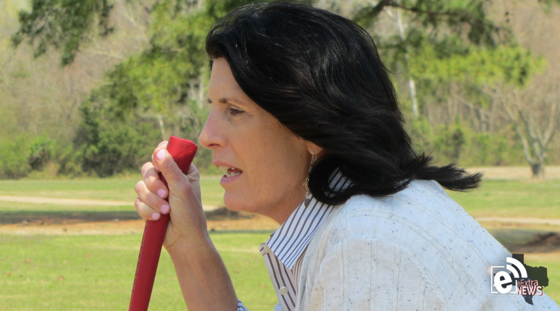 Beating first tee nerves    Golf tips by Cathy Harbin