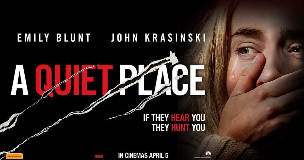 'A Quiet Place'    Movie Review by Nick Murillo