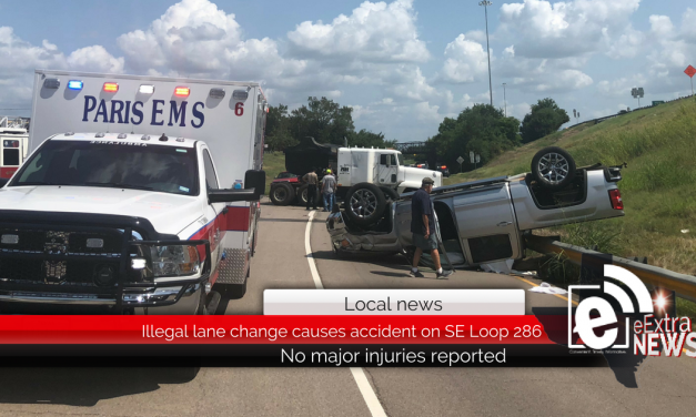 Illegal lane change causes accident on S.E. Loop 286