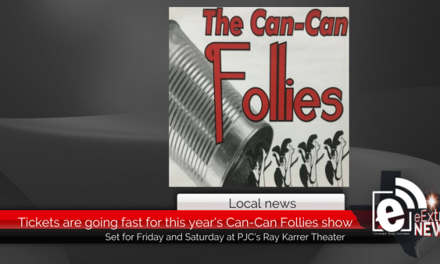 Tickets are going fast for this weekend's Can-Can Follies show