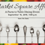 Tickets are almost gone for this year's Market Square Affair