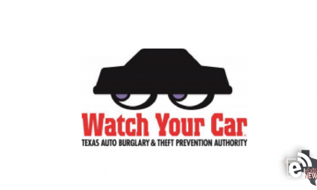 Governor proclaims August 'Watch Your Car Month' || Urges Texans to protect themselves from auto burglary