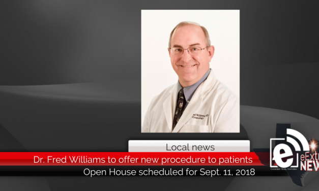 Dr. Fred Williams to offer new procedure to Paris patients
