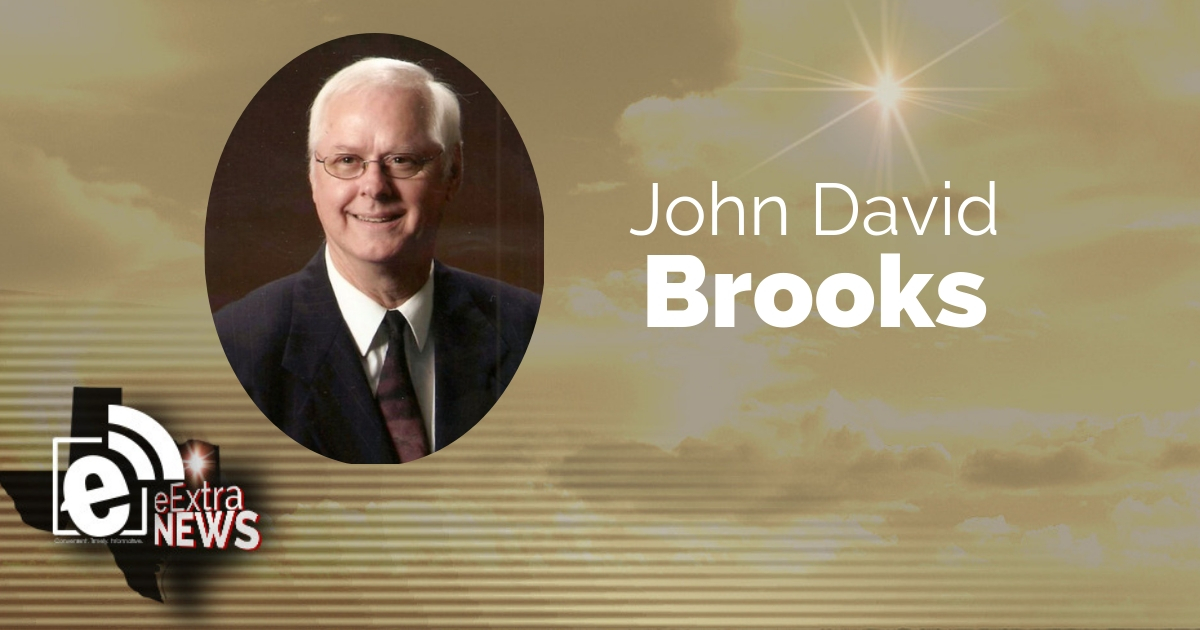 John David Brooks of Brookston, TX