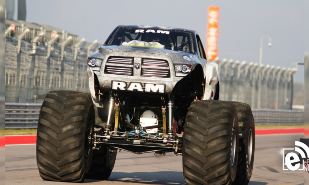 Fastest monster truck in the world visits Greenville, Texas