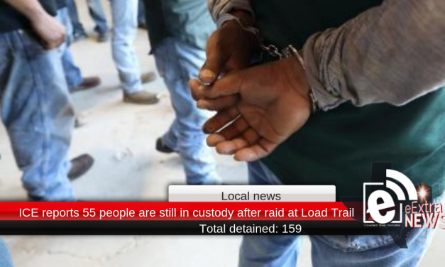 ICE reports 55 people are still in custody after raid at Load Trail